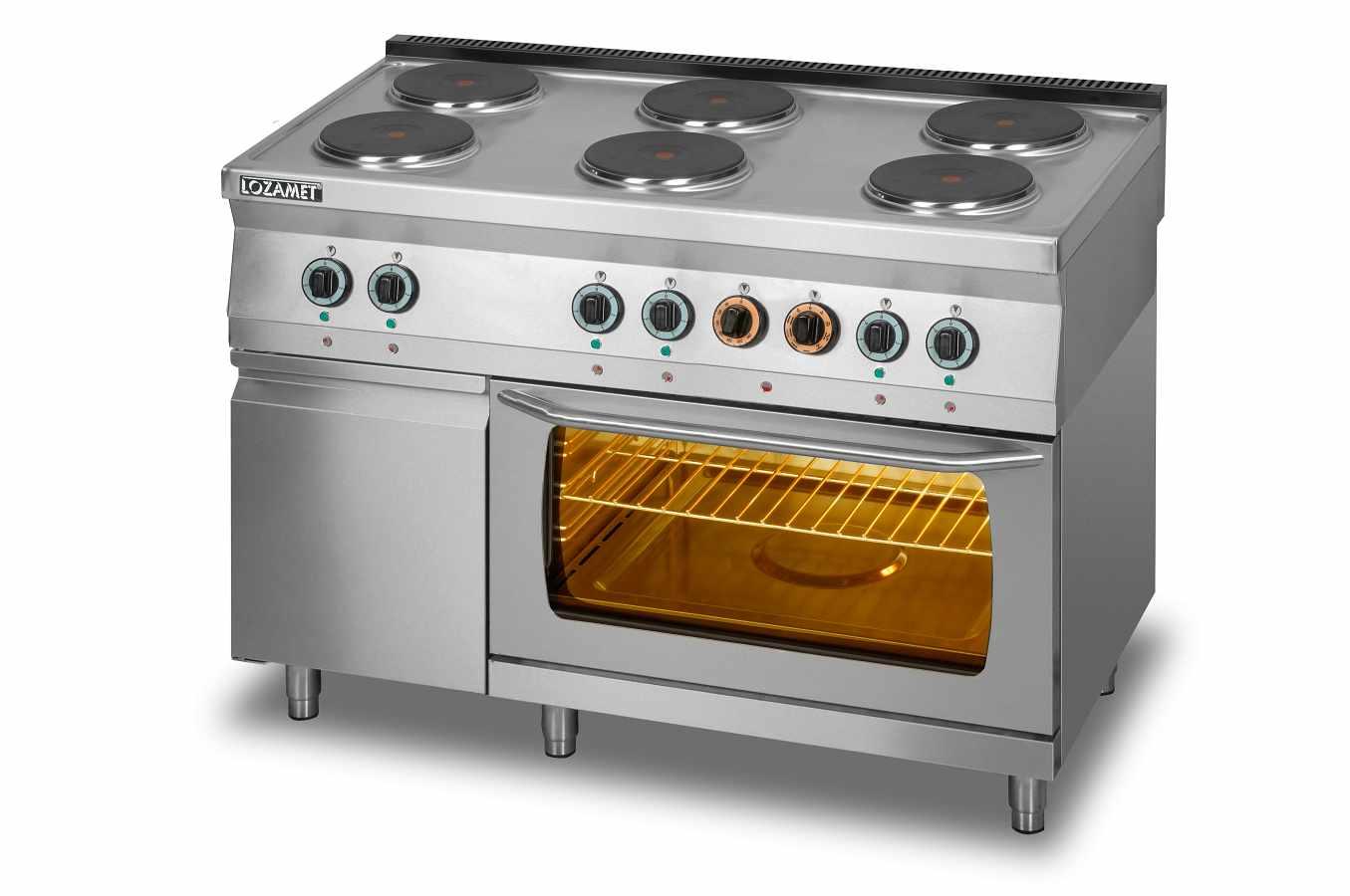 Kuchnie elektryczne z piekarnikiem  KUCHNIA ELEKTRYCZNA L700 KEO6 PE+SD -> Kuchnia Elektryczna Z Piekarnikiem Elektrycznym