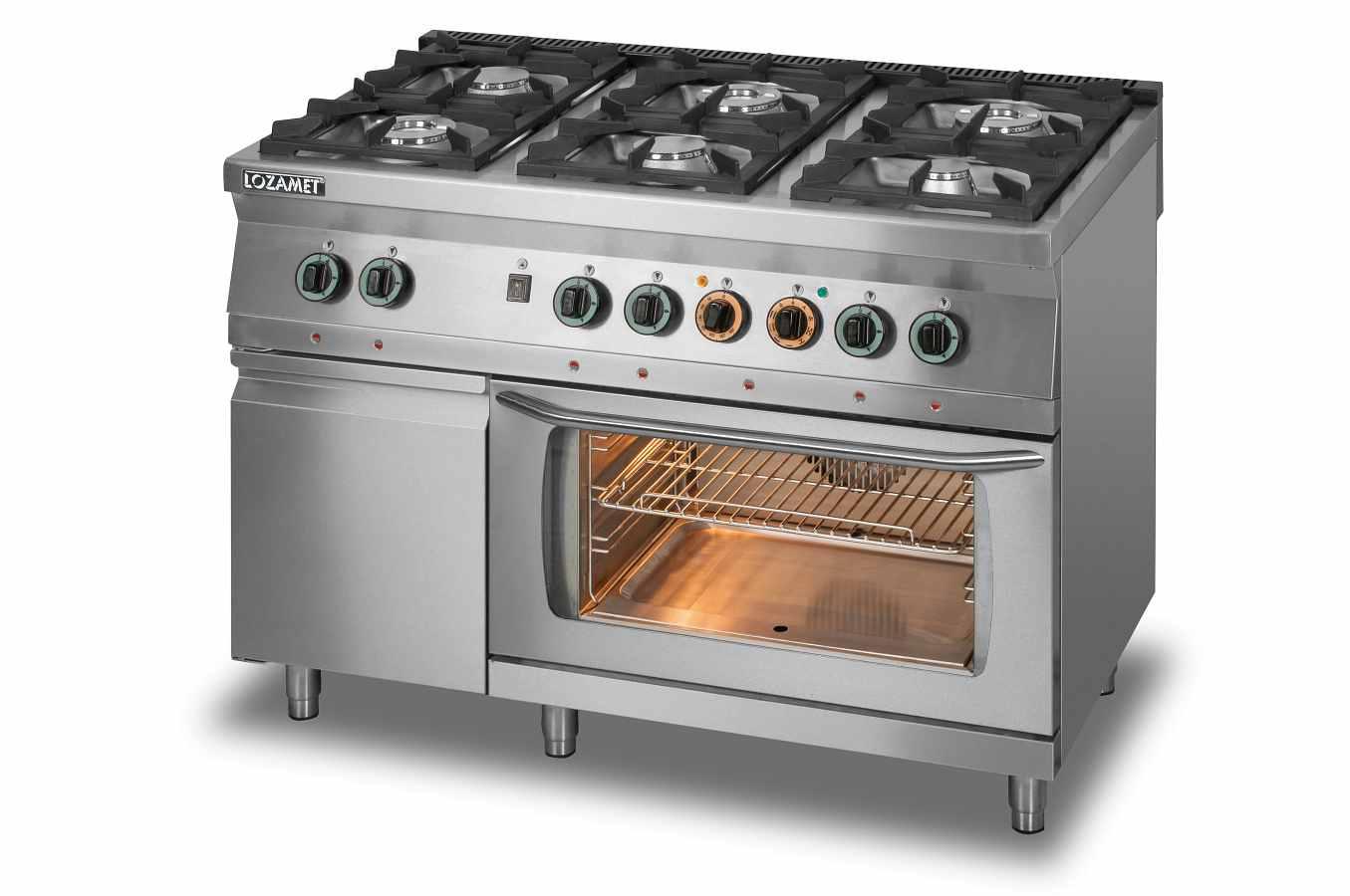 Kuchnie gazowe z piekarnikiem  KUCHNIA GAZOWA L700 KG6 PET+SD -> Kuchnie Gazowe Do Zabudowy Z Piekarnikiem Elektrycznym