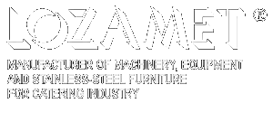 MANUFACTURER OF MACHINERY, EQUIPMENT AND STAINLESS-STEEL FURNITURE FOR CATERING INDUSTRY